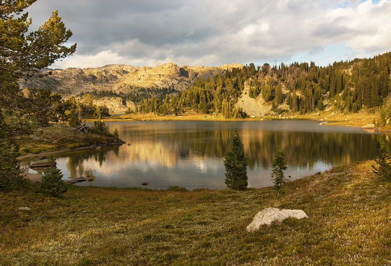 Wright Lake in Late Afternoon Light