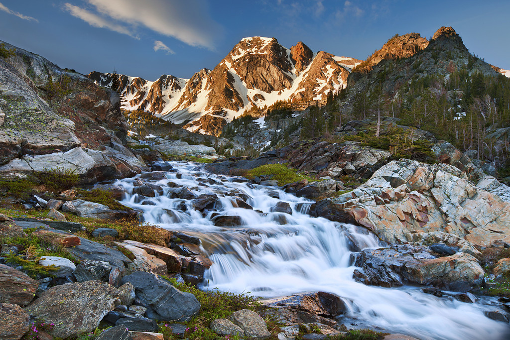 Mountain Creek and Black Mountain<br /> Absaroka-Beartooth Wilderness, Montana