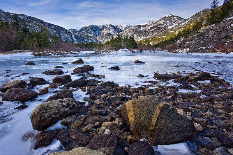 Winter on the Stillwater River<br /> Absaroka-Beartooth Wilderness