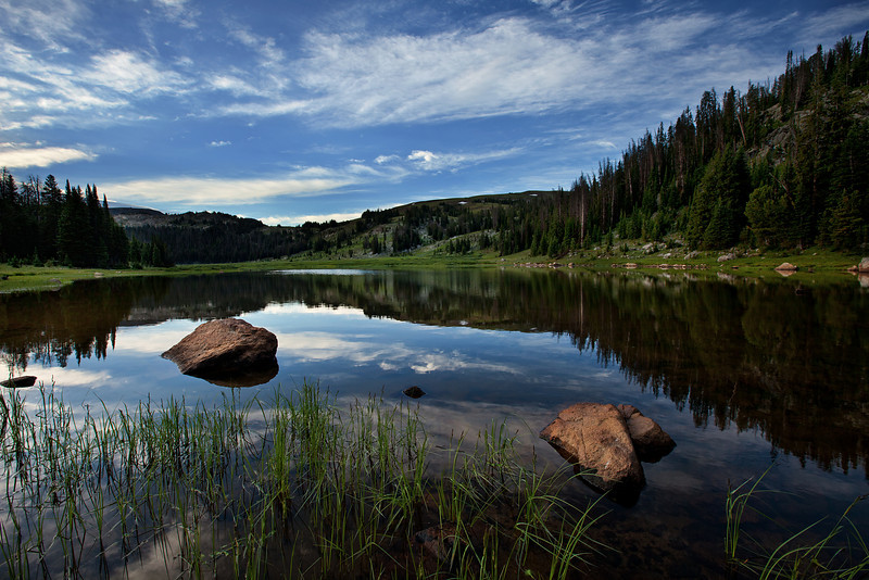 Early Morning, Lake Columbine, Absaroka-Beartooth Wilderness