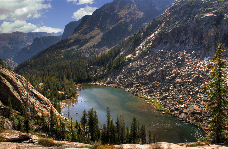 Duggan Lake, Absaroka-Beartooth Wilderness, Montana