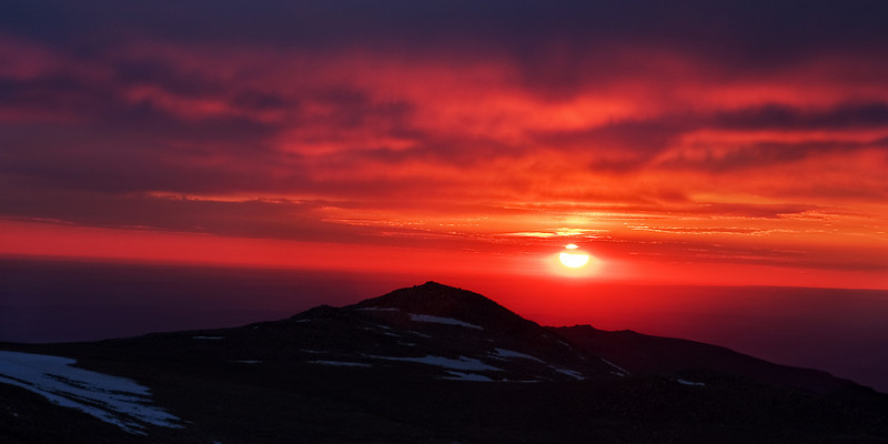 Alpine Sunrise<br /> Taken from Froze-to-Death Plateau, elev. 12,000 ft<br /> Absaroka-Beartooth Wilderness, MT