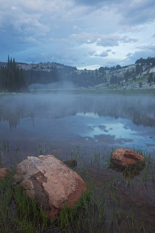 Mountain Mist<br /> Lake Columbine, Absaroka-Beartooth Wilderness, MT
