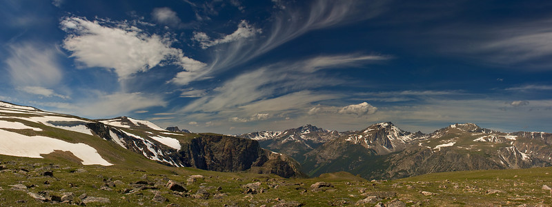 View From Froze-to-Death Plateau<br /> Beartooth Mountains, MT