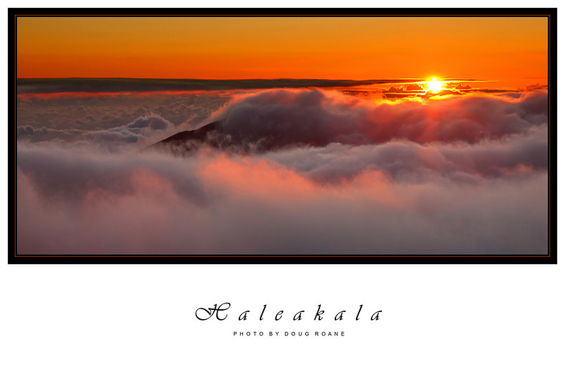 "Haleakala Sunrise.  This photo is published in the March 2007 issue of Popular Photography, winning 3rd place in ""Your Best Shots""."