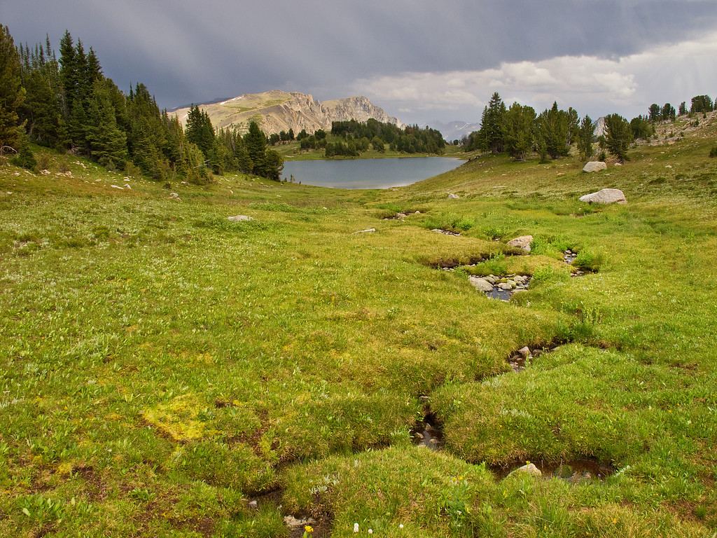 Lake Pipit, Lake Plateau Region, Absaroka-Beartooth Wilderness