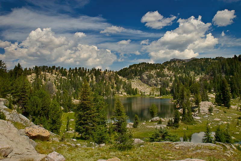 Mountain Lake off the Beartooth Recreation Loop, Absaroka-Beartooth Wilderness