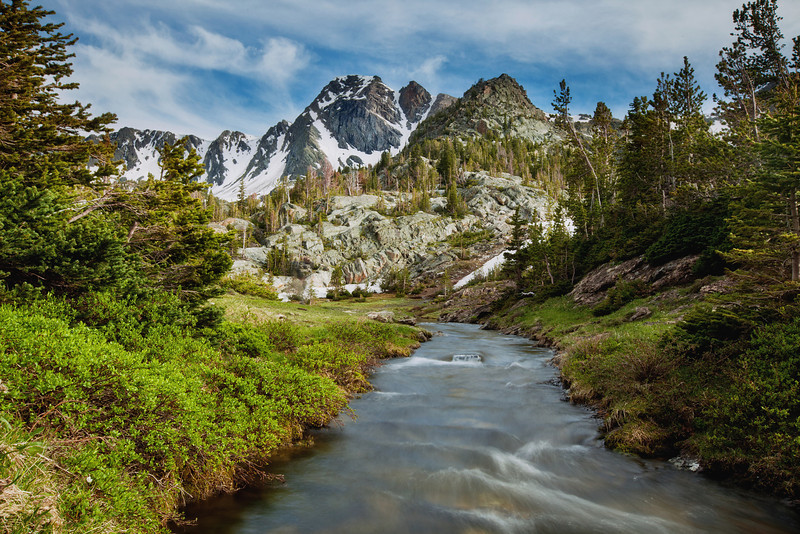 Black Mountain and The Headwaters of Pine Creek, Absaroka-Beartooth Wilderness, MT
