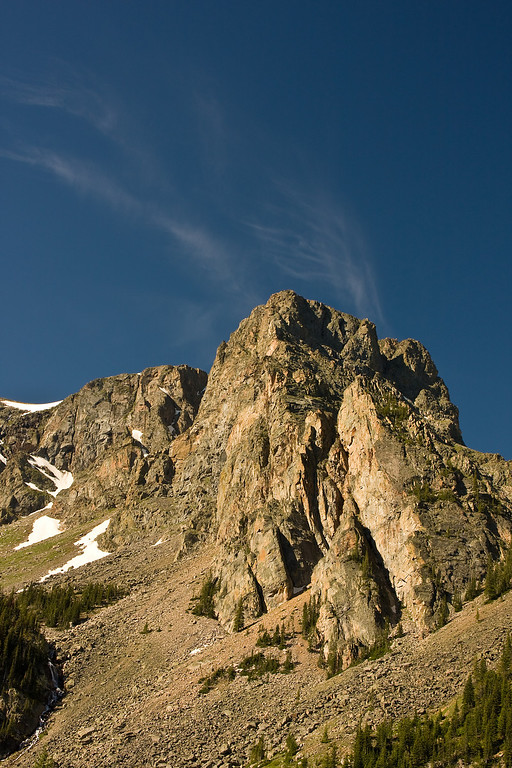 Peaks Above Mystic Lake, Absaroka-Beartooth Wilderness, MT