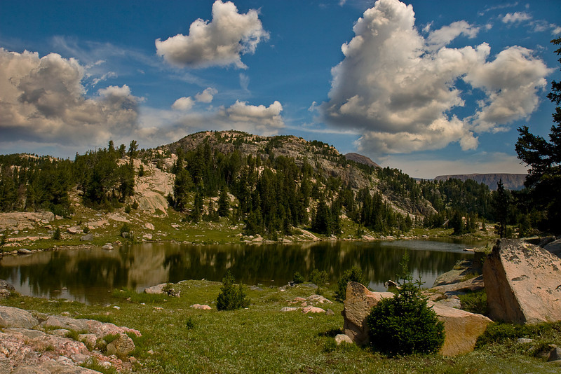 Mountain Lake #1.  Beartooth Mountains, Absaroka-Beartooth Wilderness