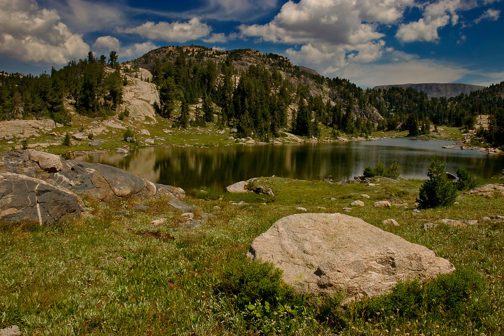 Mountain Lake #2  Beartooth Mountains