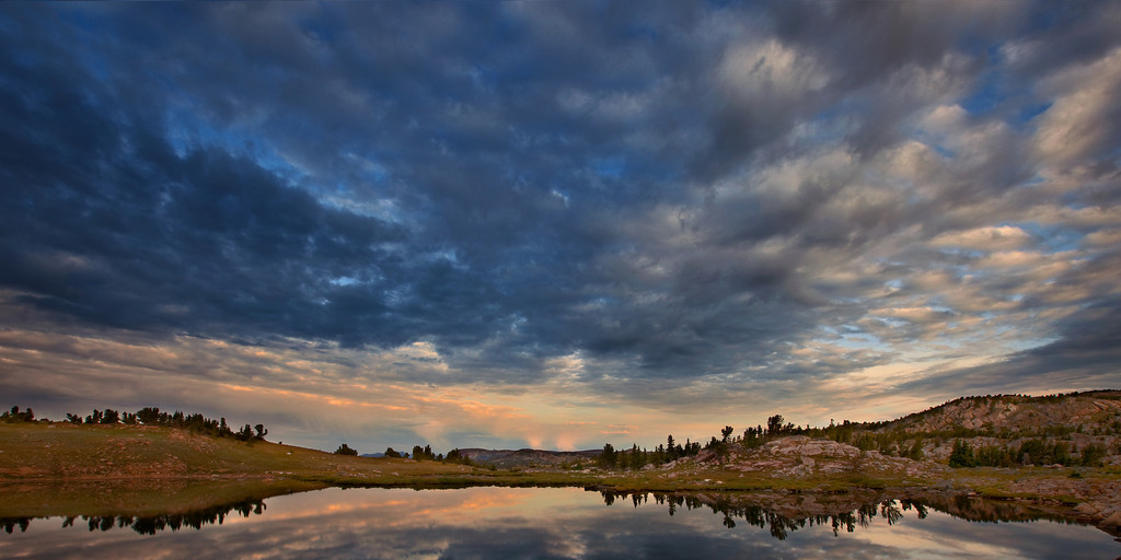 Tarn and Sky, Beartooth Plateau