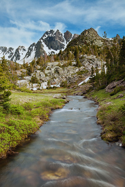 Black Mountain and The Headwaters of Pine Creek II, Absaroka-Beartooth Wilderness, MT