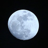 Waxing Gibbous Moon - 94% of full<br /> January 24, 2013