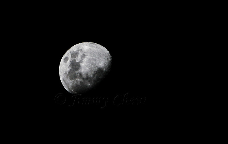 I forgot if this was Waxing Gibbous or Waning Gibbous!