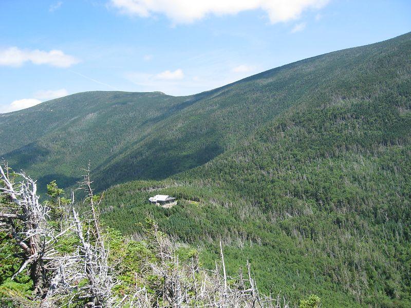 Galehead Hut from Galehead Mtn.