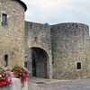 Rodemack  France_city gate and roman wall_Sept 2012