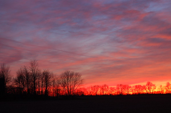Indiana Sunset, Dec. 5th 2012
