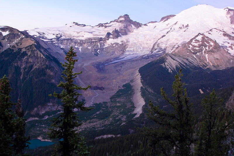 Mount Rainier 31 Sunrise E
