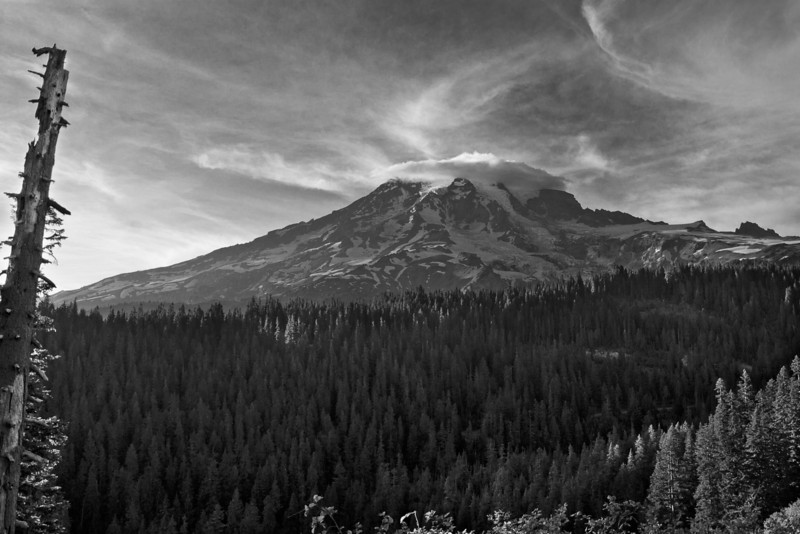 Mount Rainier 13 Jeff South BW