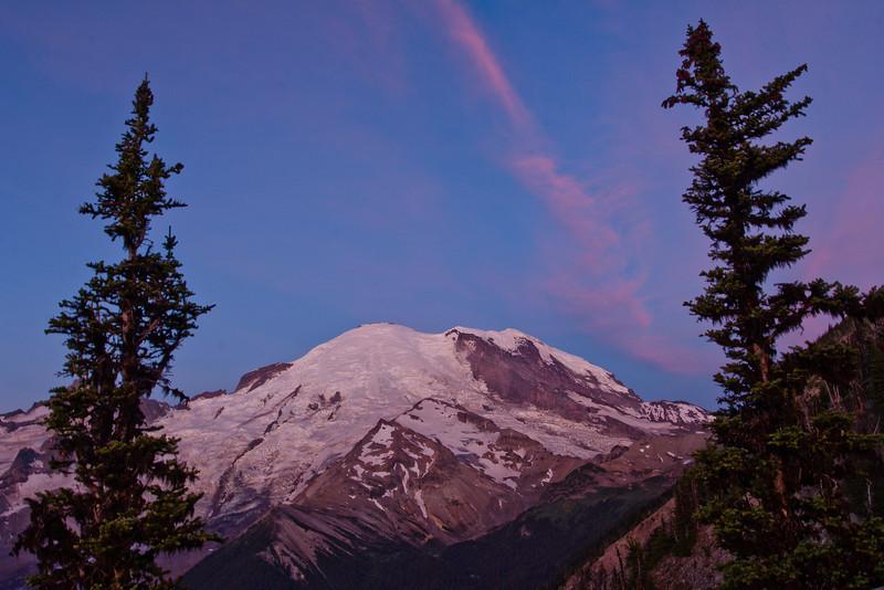 Mount Rainier 30 Sunrise E
