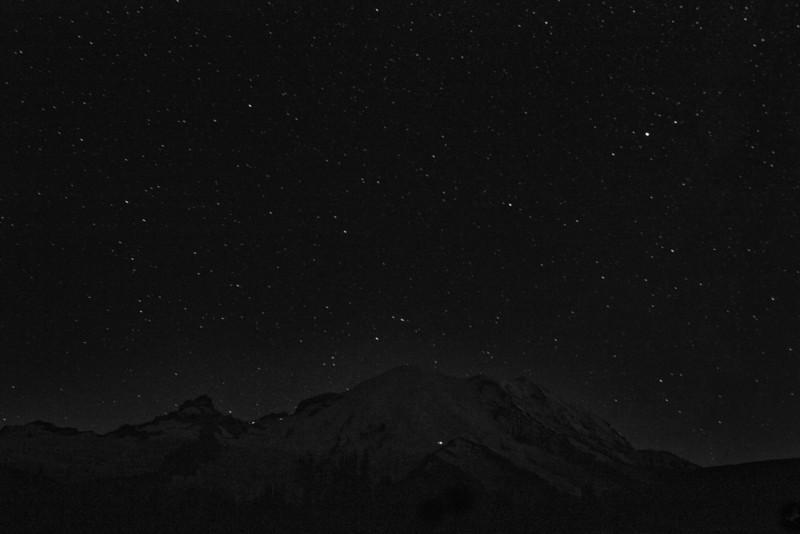 Milky Way over Mt Rainier 2