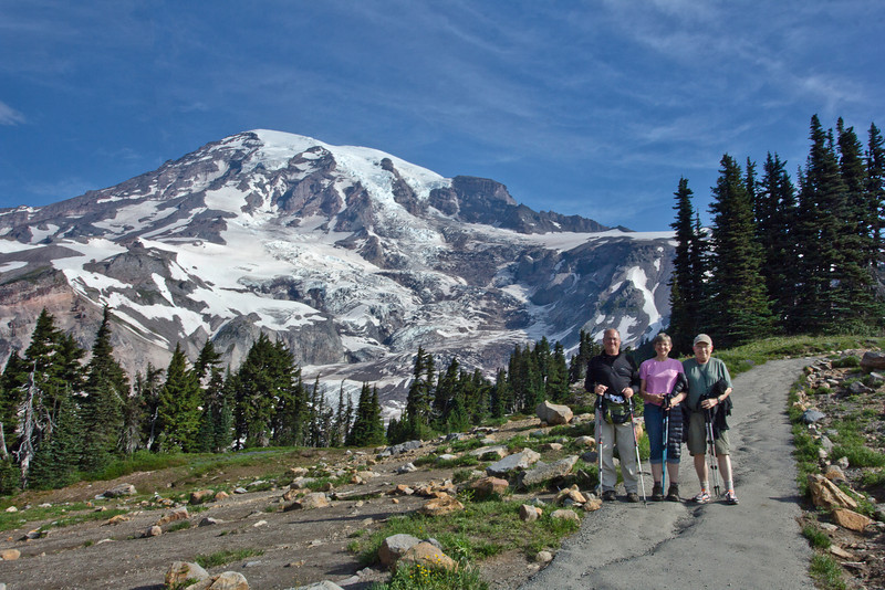 Mount Rainier 6 Jeff-Janet-Dan South
