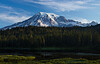 Mt Rainier sunrise on the mountain 8-9-13