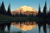 Mt Rainier sunrise from Lake Tipsoo
