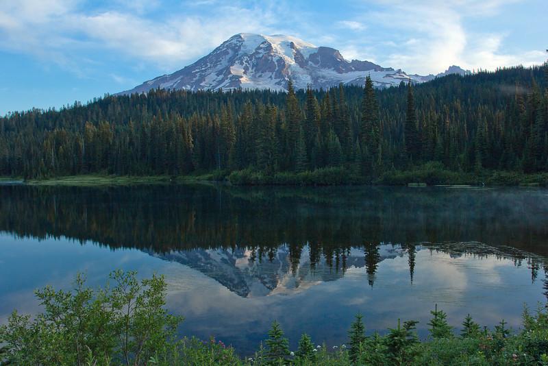 Mount Rainier Reflection Lake 4