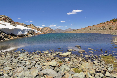 The original 'infinity pool' ~ No Name Lake, Virginia Lakes Trail, Hoover Wilderness, CA
