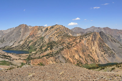 View from the top of the pass, Virginia Lakes Trail, Hoover Wilderness, CA