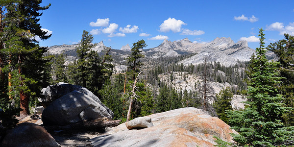 Along the John Muir Trail, Yosemite National Park