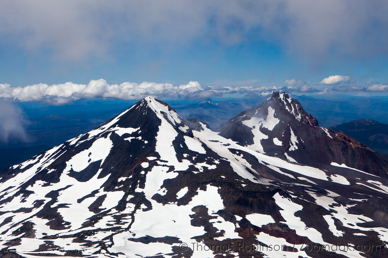 Middle and North from South Sister