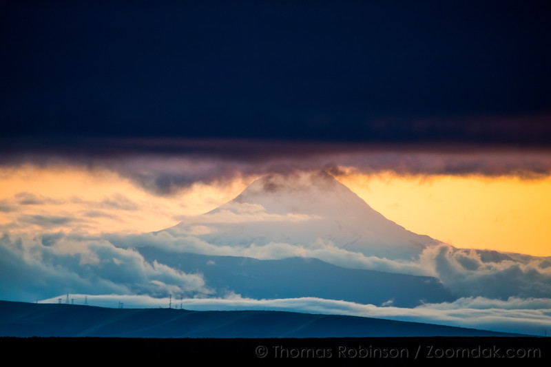 Mt. Hood Under the Clouds