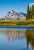 Grand Teton Afternoon Light Reflection