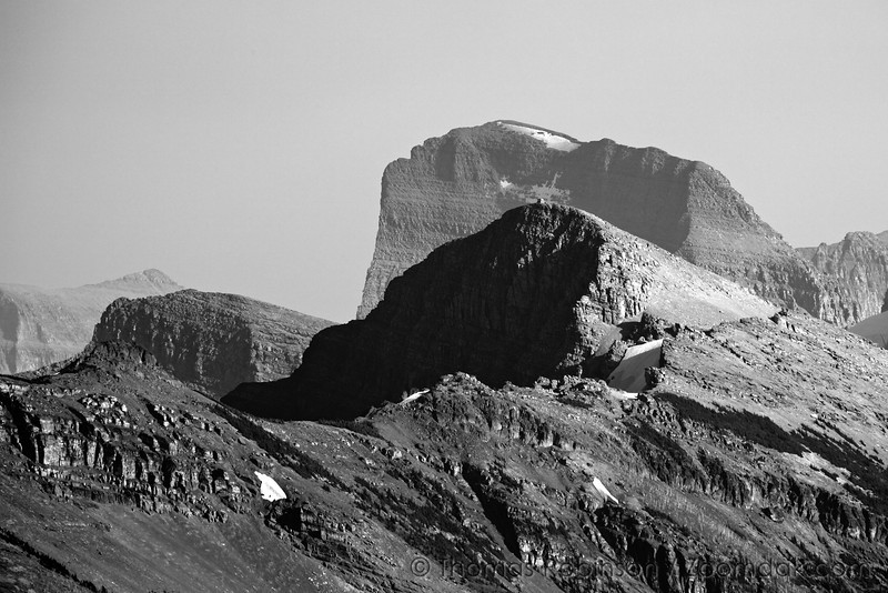 Glacier National Park - Summit of Swiftcurrent Mountain