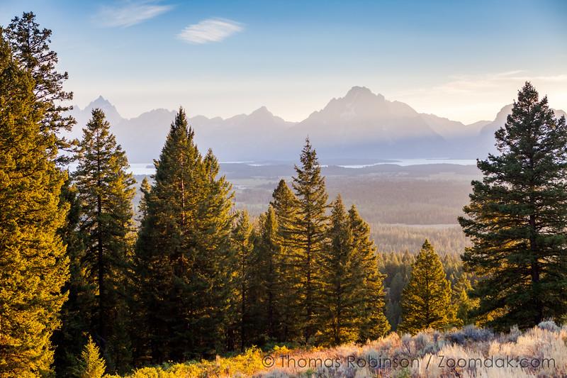 Teton Range in Golden Light