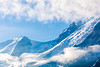 Glaciers and Clouds
