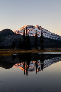 South Sister Alpenglow