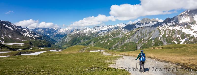 Trail to Col de la Seigne