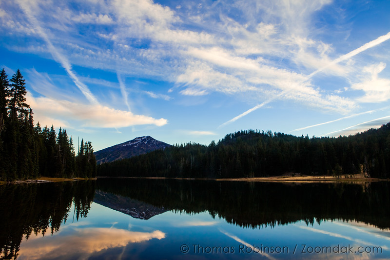 Todd Lake and Mt. Bachelor, Oregon