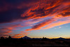 Vibrant Sunset with Mt. Jefferson, Horizontal
