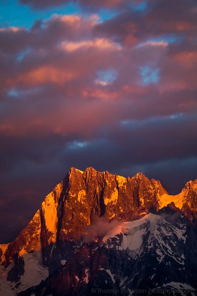 Grand Jorasses, Chamonix-Mont-Blanc