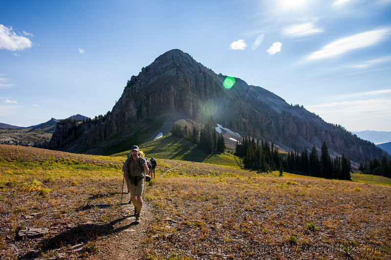 Hiking in the Tetons
