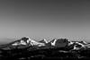 Winter Cascades Black and White