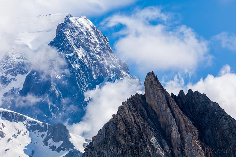 Mont Blanc Massif Detail