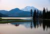 Kayaking at Sparks Lake, Oregon