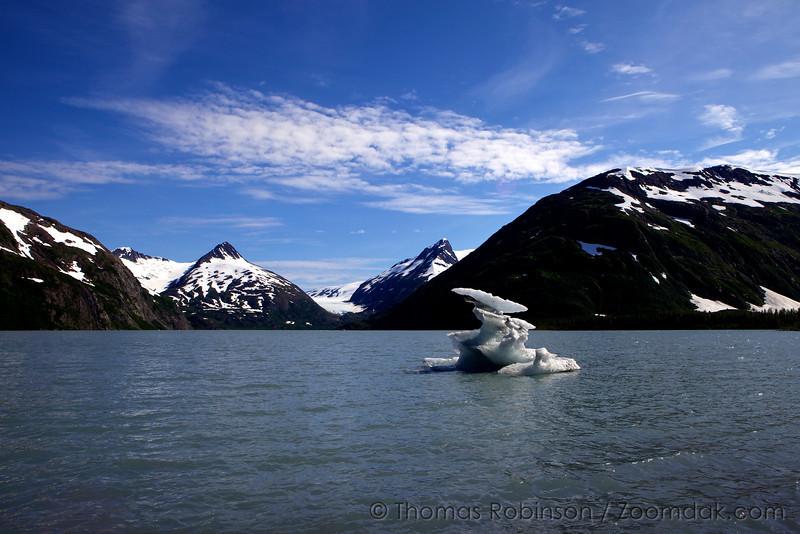 Glacier Melt, Portage Lake Alaska