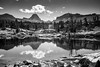 Alaska Basin Black and White